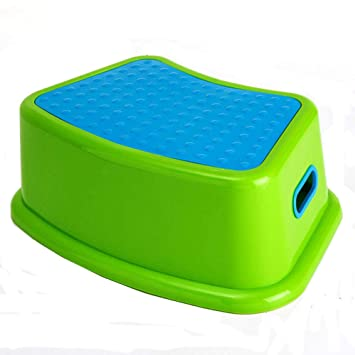 Amazon.com : Step Foot Stool Bathroom Toddler Stand On Potty ...