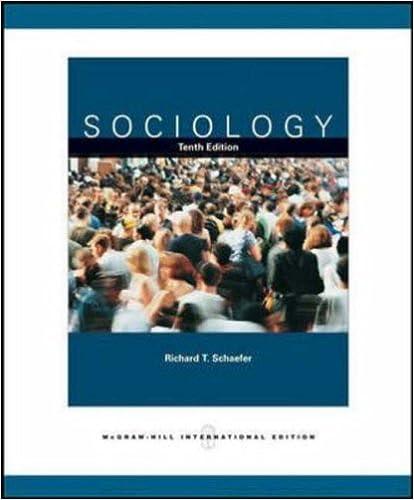 Amazon Sociology And Powerweb 9780071108294 Richard T