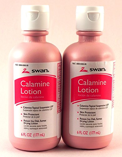 Swan Calamine Lotion - (2) 6 Oz. Bottles by Swan