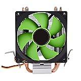 fosa CPU Cooler for Intel LGA775/1156/1155 AMD AM2/AM2+/AM3, 90mm 3-PIN Plug Heavy Duty Heatsink Fan
