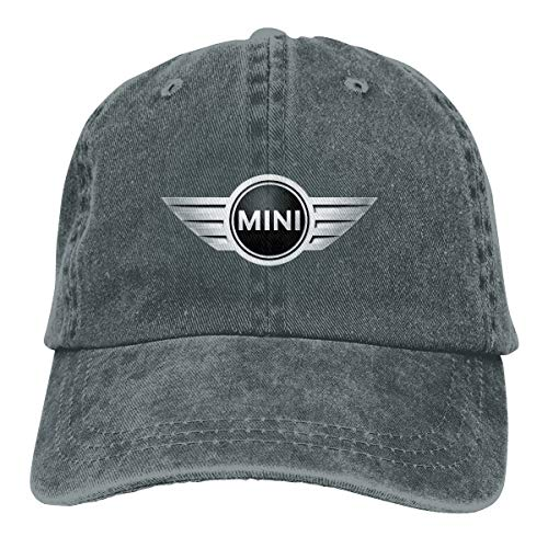 Fipiall Women Mini 100% Cotton Baseball Hat Customizable Six Panel Hat Racing Audience Cowboy Hats Deep Heather ()