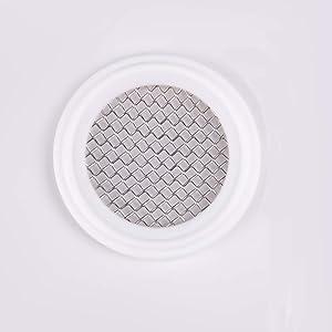 "2"" 20 Mesh Tri Screen PTFE Sanitary Tri-clamp Screen Gasket Pharmaceutical Grade Filter Mesh"