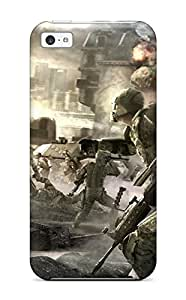 Hot Protective Tpu Case With Fashion Design For Iphone 5c (tom Clancy's Endwar)