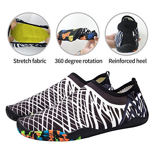 7a90bb2b36063 30%OFF DUOLUNSI Water Shoes Skin Shoes Quick Dry Aqua Socks Barefoot ...