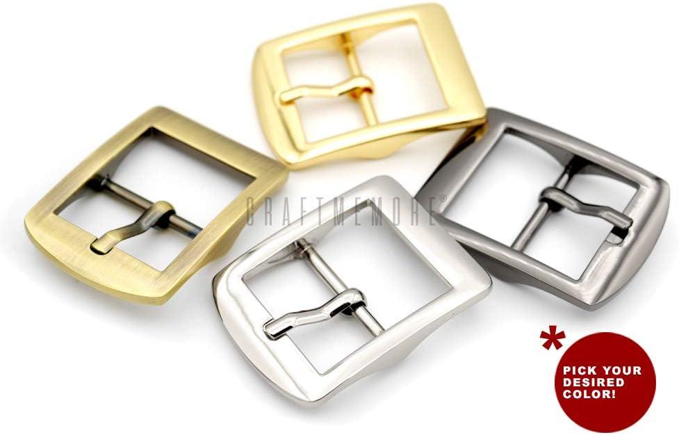 "High Quaility Bronze Roller Belt Buckle for 1 1//2/"" Belts NEW"