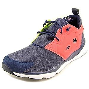Reebok Furylite Graphic Women US 6.5 Blue Running Shoe