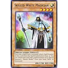 Yu-Gi-Oh! - Skilled White Magician (YSYR-EN012) - Starter Deck: Yugi Reloaded - 1st Edition - Common by Yu-Gi-Oh!