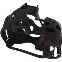 Prettyia Portable Rubber Camera Protective Skin Cover/Waterproof Camera Body Case for Nikon D5500/D5600 Black