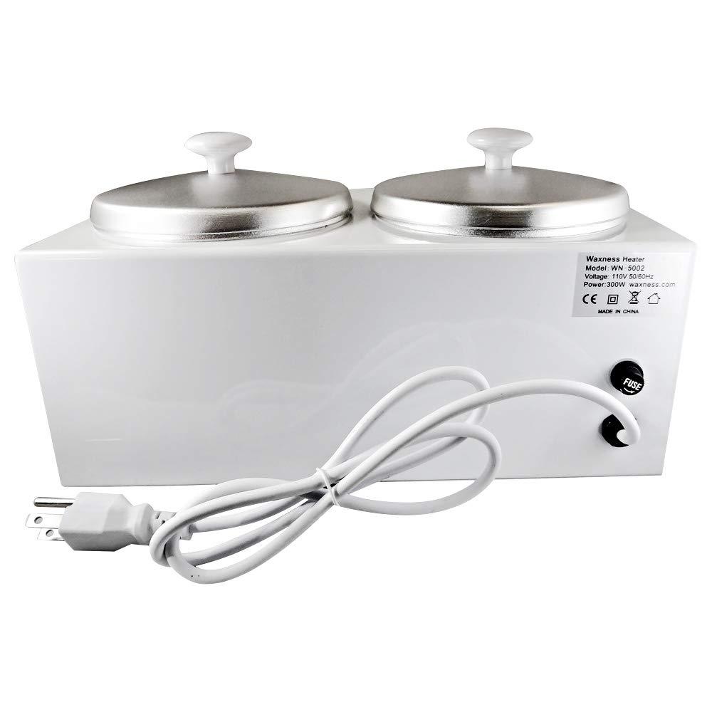 Amazon.com: Cera Necessities doble calentador de cera wn ...