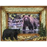 Rivers Edge Products 4 X 6-Inch Bear Picture Frame