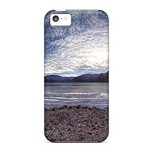 Fashion Tpu Case For Iphone 5c- Lake Beauty Defender Case Cover