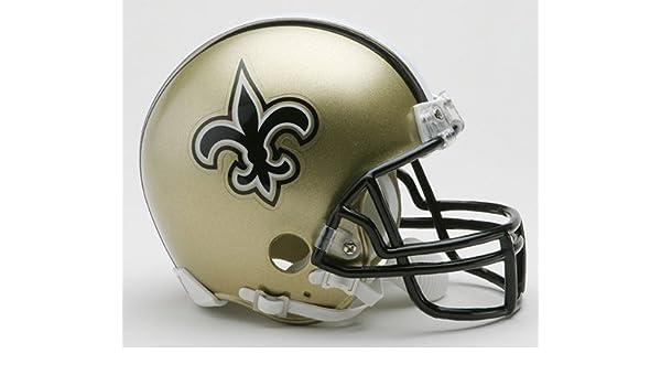 Amazon.com  New Orleans Saints Riddell Mini Helmet  Sports Collectibles f122868a9