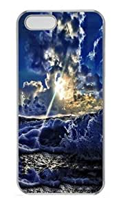 A brighter future Polycarbonate Hard Case Cover for iPhone 5/5S Transparent Thanksgiving Day gift