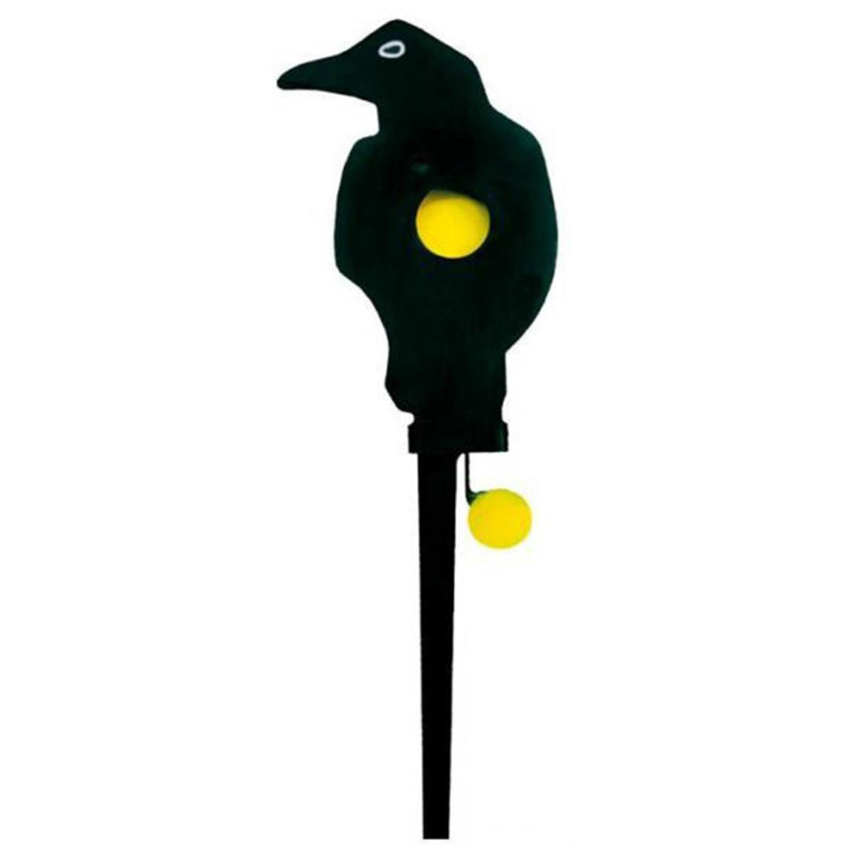 Umarex - Blanco para tiro con rifle, diseño de cuervo, color negro y amarillo