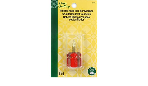 Amazon.com: Dritz Quilting Mini Screwdriver, Phillips Head