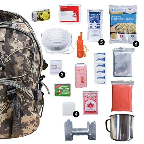 2 person emergency survival kit - 3