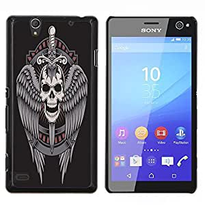 Dragon Case - FOR Sony Xperia C4 - Life is fine and enjoyable - Caja protectora de pl??stico duro de la cubierta Dise?¡Ào Slim Fit