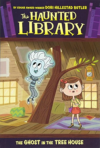 The Ghost in the Tree House #7 (The Haunted Library) (Haunted Houses Ideas)