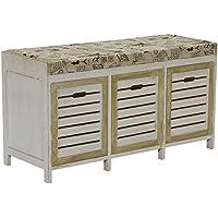 Household Essentials ML-5414 ML-5414 3 Door Bench