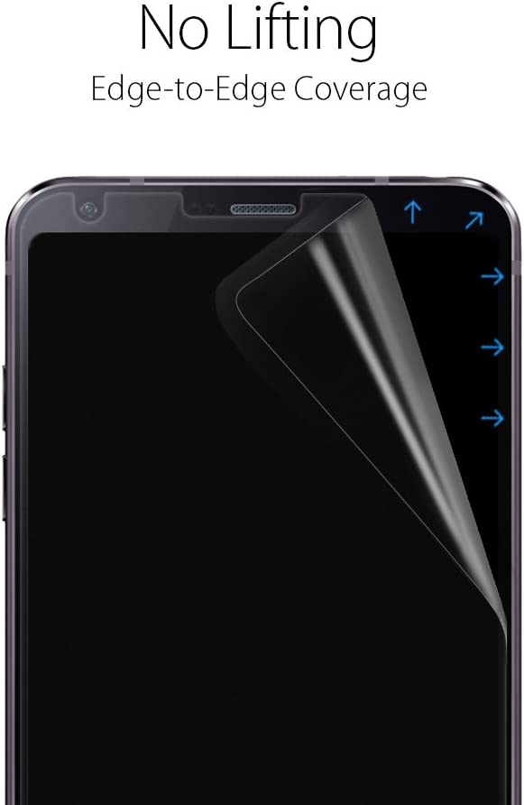 Spigen NeoFlex LG G6 Screen Protector with 2 Pack//TPU Film//Case Friendly for LG G6