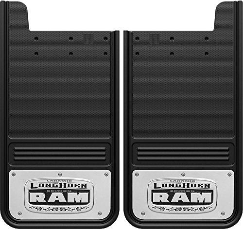 Gatorback Dodge Ram Longhorn Truck Mud Flaps - Rear Pair (Longhorn Mud Ram Flaps)