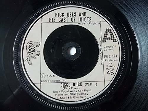 RICK DEES AND HIS CATS OF IDIOTS Disco Duck 7