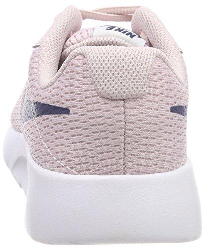 Nike Girl's Tanjun Shoe Barely Rose/Navy/White Size 3.5 M US by Nike (Image #2)