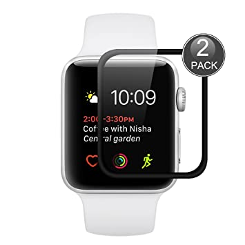 Apple Watch Series 2 38mm Protector de Pantalla, Wrcibo [2 ...