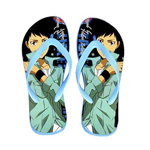 Bromeo Hitman Reborn Anime Unisex Flip Flops Chanclas 619