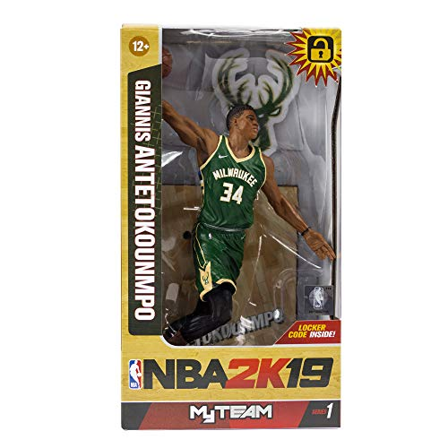 McFarlane NBA 2K19 Giannis Antetokounmpo Milwaukee Bucks Action Figure (18 cm)