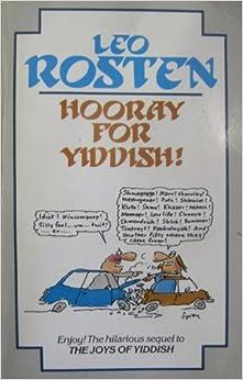 Hooray for Yiddish!