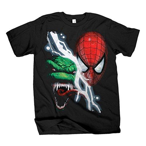 The Amazing Spider-Man & Lizard Black T-Shirt