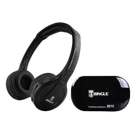 Docooler B616 Auriculares estéreo inalámbricos multifunción en el oído Auriculares FM Radio Transmisor de Auriculares con