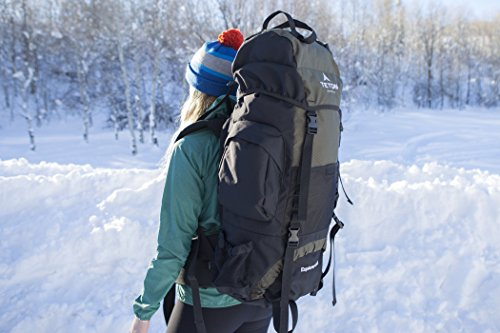 Teton Sports Scout 3400 Internal Frame Backpack; High-Performance Back... - 51KguF5znKL