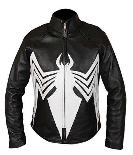 F&H Men's Amazing Spider-Man Venom Spiderman Jacket 5XL Black