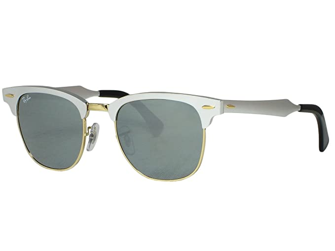 38669c707e ... buy ray ban rb3507 clubmaster aluminum 137 40 silver sunglasses 51mm  85942 8cd98