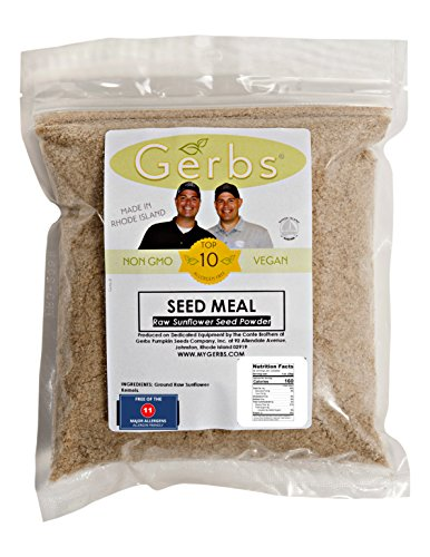 Flour Seeds Sesame (Ground Raw Sunflower Seed Meal By Gerbs - 2 LBS - Top 12 Food Allergy Free,Non GMO - Vegan - Kosher (SUNFLOWER MEAL, 2LB))