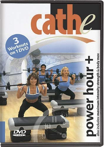 Pump Step Cardio - Cathe Friedrich's Power Hour + MIS & Body Max DVD