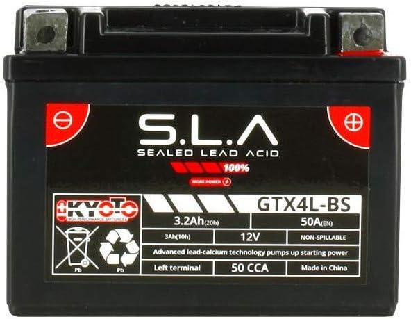 Batterie pr/ête lemploi pour YAMAHA XT 600 K 1990//1994 Kyoto