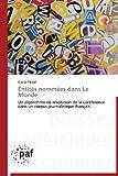 Entités Nommées Dans le Monde, Tardif Olivier, 3838176618
