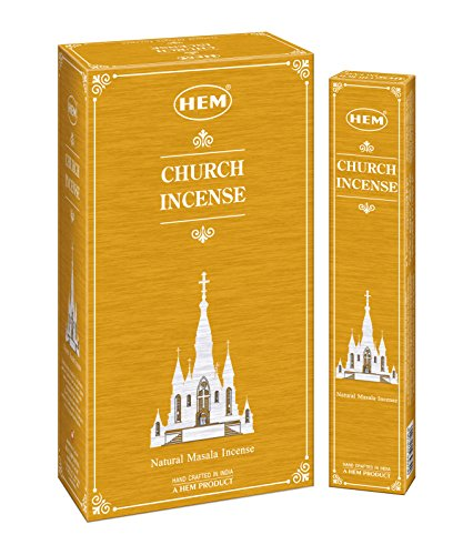 HEM Incense Newly launched Exclusive Fragrance Catholic Church Incense Masala Agarbatti Sticks (Set of 12 Boxes, 15 Grams Each)