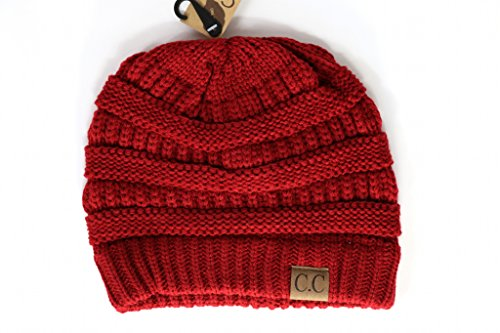 Crane Clothing Co. Women's Classic CC Beanies - Red