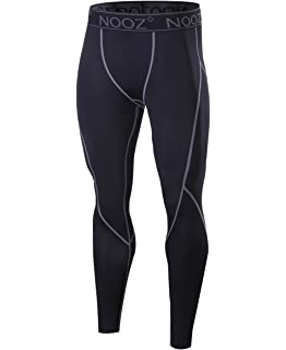 a3d0966dc3ca0 Nooz Men's Quick Dry Powerflex Compression Baselayer Pants, Legging Tights  for Men