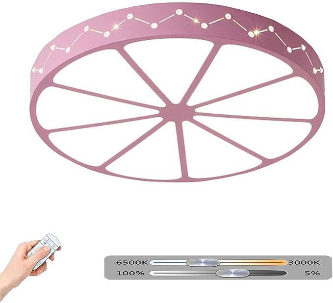 Luz de techo LED Lámpara redonda Sala de estar Moderna Luminaria ...