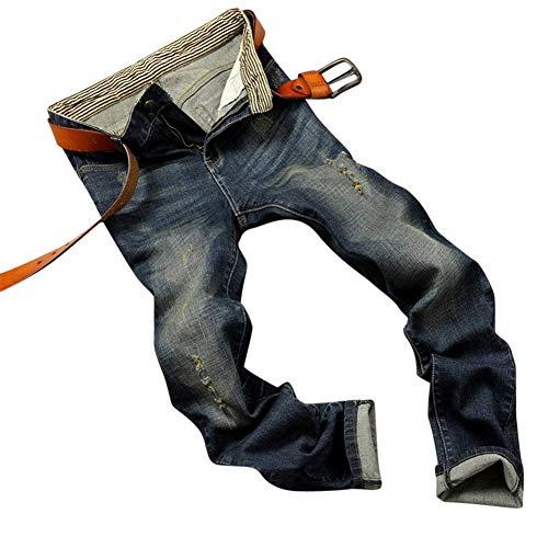 Old Jeans Trabajo Trousers Denim Stil2 Ropa Hombre ADELINA Hombre Nne Basic Pantalones Hombre De Simple Jeans Holes Cher Pants Denim Hombre xqwaHZ