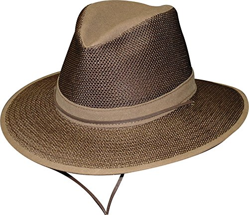 - Henschel Hats Breezer Aussie Hat, Brown, 2X-Large