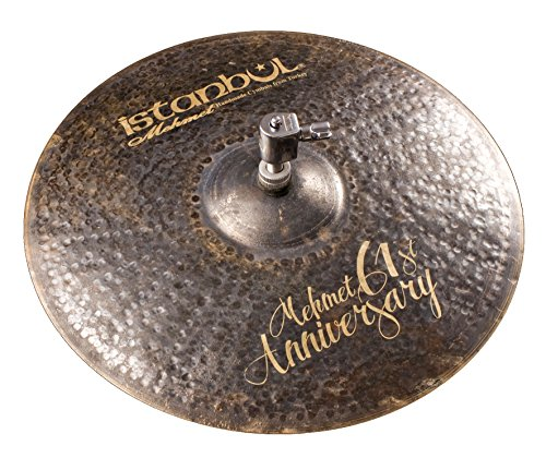 Istanbul Mehmet Cymbals Signature Series MT-AN-VHH15 15-Inch 61st Anniversary Vintage Hi-Hat Cymbal ()