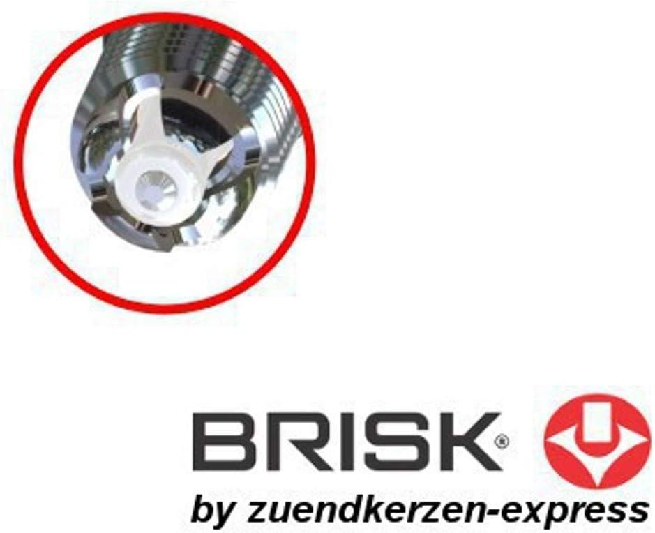 Brisk Premium Racing MOR14LGS 3167 Buj/ías de Encendido 4 Piezas