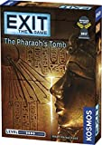 Exit: The Pharaoh's Tomb | Exit: The Game - A Kosmos Game | Kennerspiel Des Jahres Winner | Family-Friendly, Card-Based at-Home Escape Room Experience for 1 to 4 Players, Ages 10+
