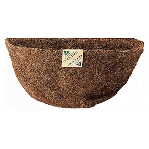 Gardman 16 in. Pre-Formed Wall Basket with Manger Coco Liner